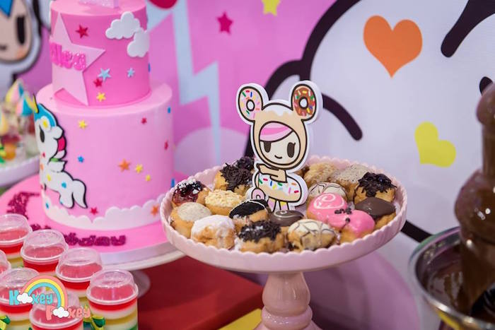 Sweets from a Tokidoki Unicorno Themed Birthday Party via Kara's Party Ideas | KarasPartyIdeas.com (8)