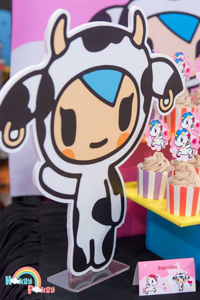 Moofia Decoration from a Tokidoki Unicorno Themed Birthday Party via Kara's Party Ideas | KarasPartyIdeas.com (7)