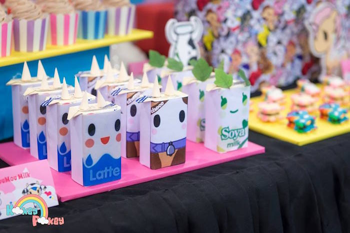 Soya Milk Packets from a Tokidoki Unicorno Themed Birthday Party via Kara's Party Ideas | KarasPartyIdeas.com (3)