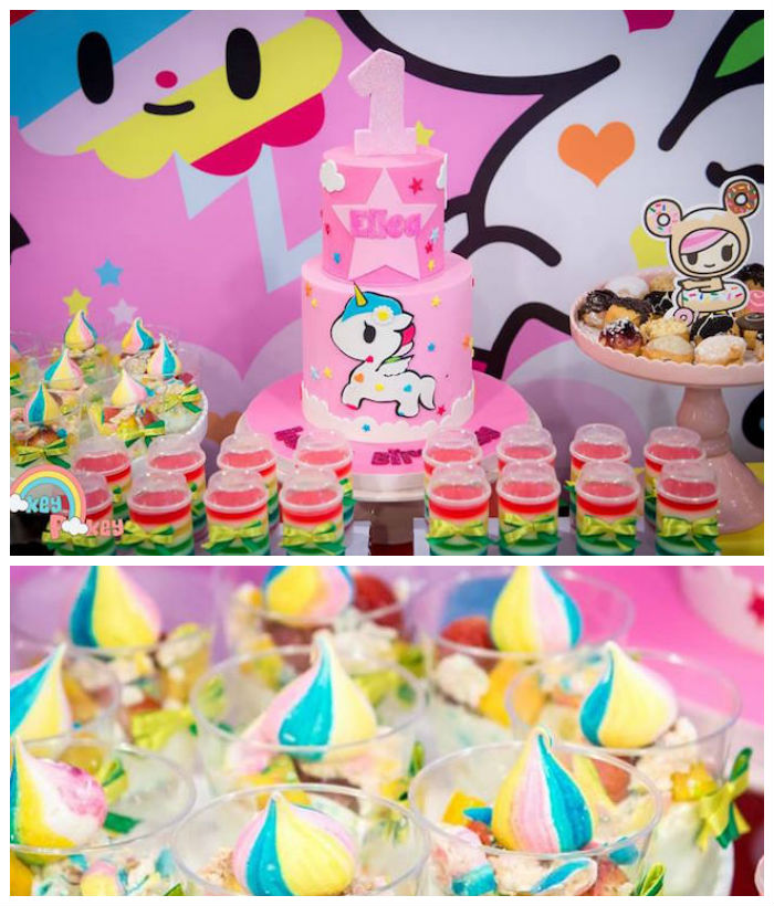 Tokidoki Unicorno Themed Birthday Party via Kara's Party Ideas | KarasPartyIdeas.com (2)