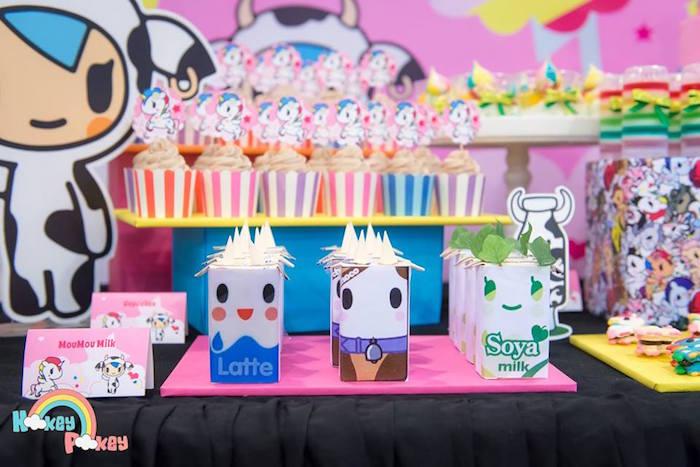 Milk Packets from a Tokidoki Unicorno Themed Birthday Party via Kara's Party Ideas   KarasPartyIdeas.com (14)