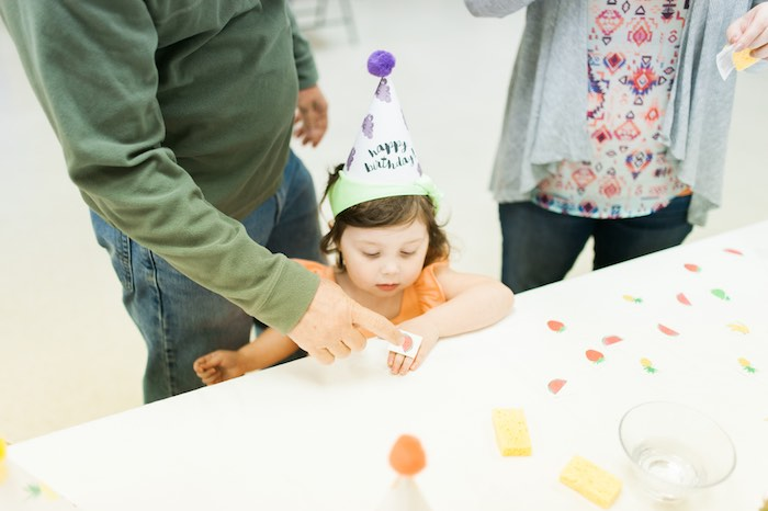 Temporary Tattoo Table from a Tutti Frutti Birthday Party via Kara's Party Ideas | KarasPartyIdeas.com (7)