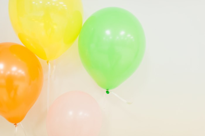 Balloons from a Tutti Frutti Birthday Party via Kara's Party Ideas | KarasPartyIdeas.com (5)