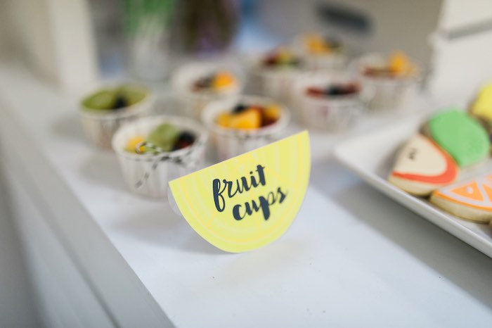 Fruit Cups from a Tutti Frutti Birthday Party via Kara's Party Ideas | KarasPartyIdeas.com (26)