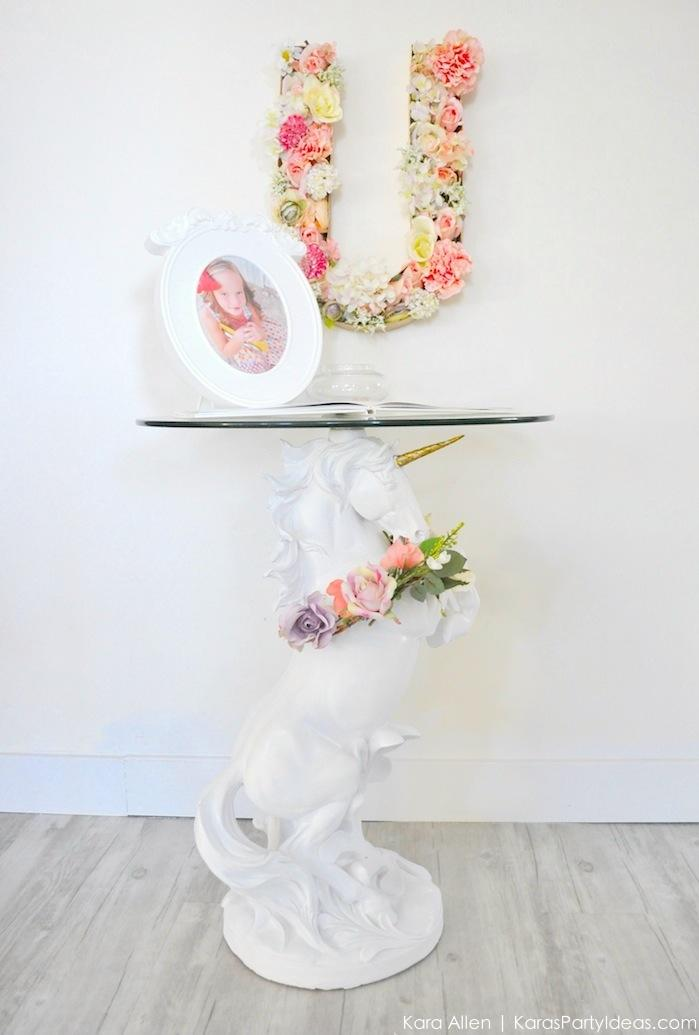 Unicorn themed birthday party by Kara's Party Ideas | Kara Allen | KarasPartyIdeas.com-202