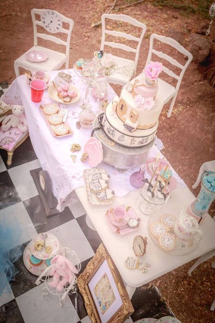Kara's Party Ideas Alice in Wonderland Tea Party: Mad ...