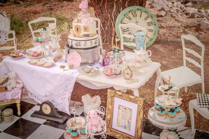 Karas Party Ideas Alice In Wonderland Tea Party Mad