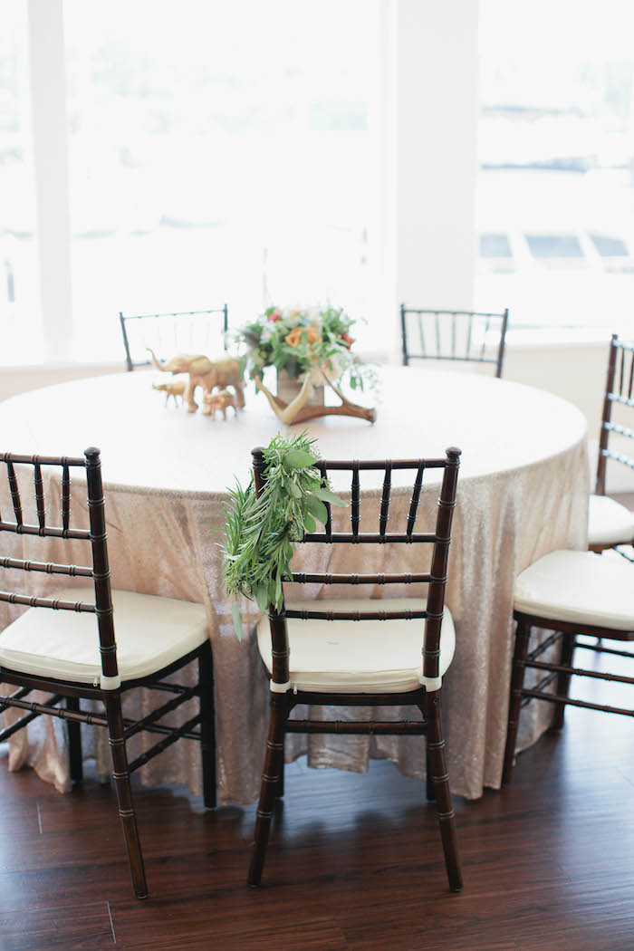 Guest Table from a Boho Baby Shower via Kara's Party Ideas | KarasPartyIdeas.com (57)