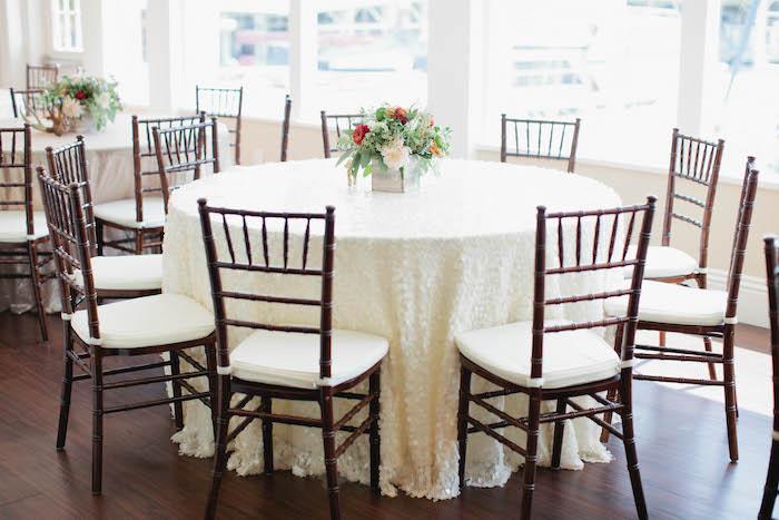 Guest Table from a Boho Baby Shower via Kara's Party Ideas | KarasPartyIdeas.com (52)