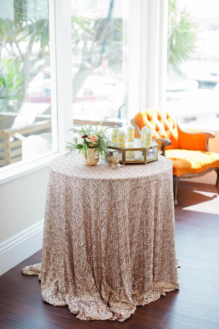 Table from a Boho Baby Shower via Kara's Party Ideas | KarasPartyIdeas.com (15)
