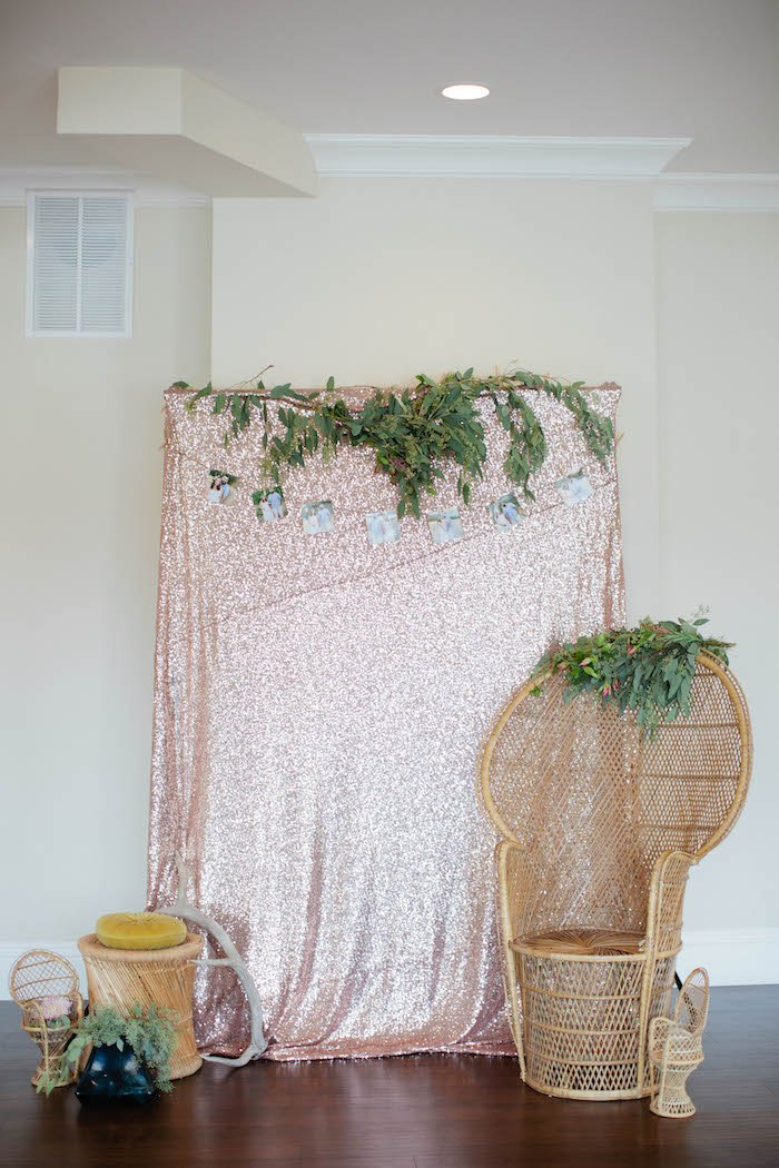 Baby Shower Backdrop Ideas ~ Kara s party ideas outdoor boho baby shower