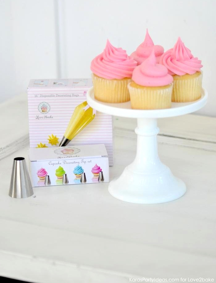 Cupcake Decorating Tip Set via Kara's Party Ideas for Love2bake 11