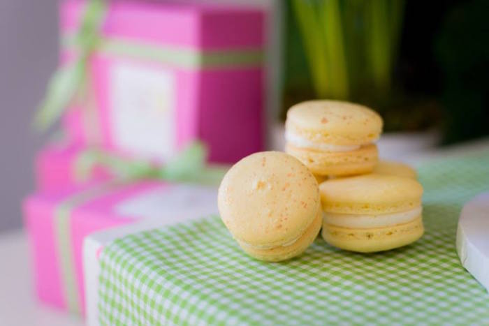 Macarons from an Easter Bunny Brunch via Kara's Party Ideas | KarasPartyIdeas.com (26)