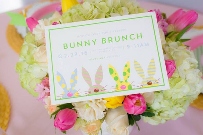 Invitation from an Easter Bunny Brunch via Kara's Party Ideas | KarasPartyIdeas.com (21)