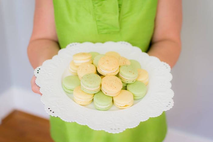 Macarons from an Easter Bunny Brunch via Kara's Party Ideas | KarasPartyIdeas.com (37)