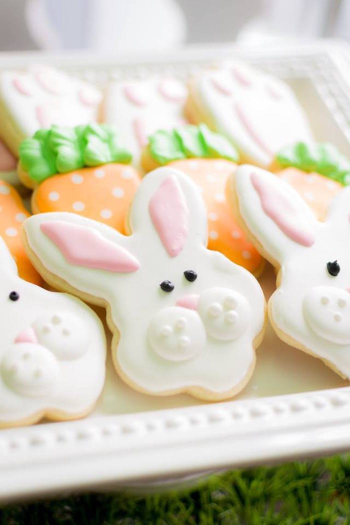 Cookies from an Easter Bunny Brunch via Kara's Party Ideas | KarasPartyIdeas.com (36)