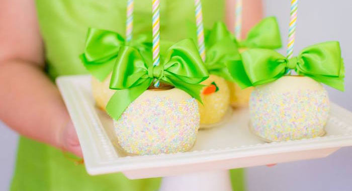 Gourmet Apples from an Easter Bunny Brunch via Kara's Party Ideas | KarasPartyIdeas.com (2)