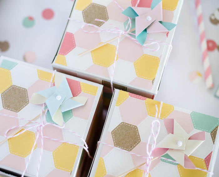 Invitation Boxes from an Easter Tea Party via Kara's Party Ideas | The Place for All