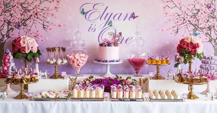 Karas Party Ideas Enchanted Garden Birthday Party Karas Party