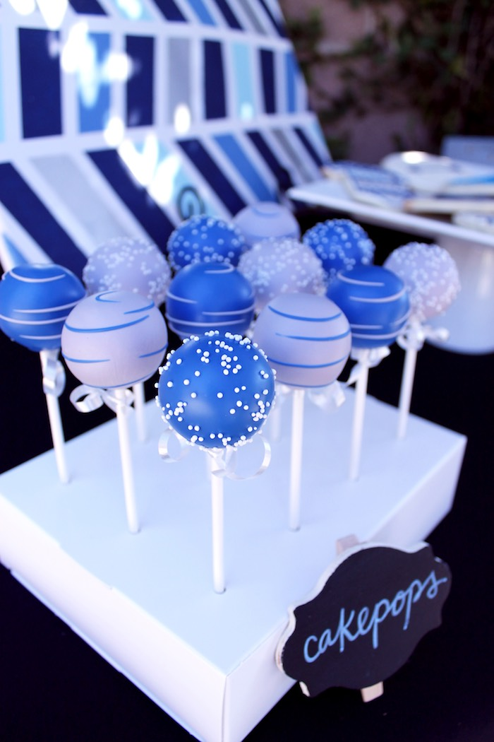 Cake Pops from a Geometric Baby Shower via Kara's Party Ideas | KarasPartyIdeas.com (33)