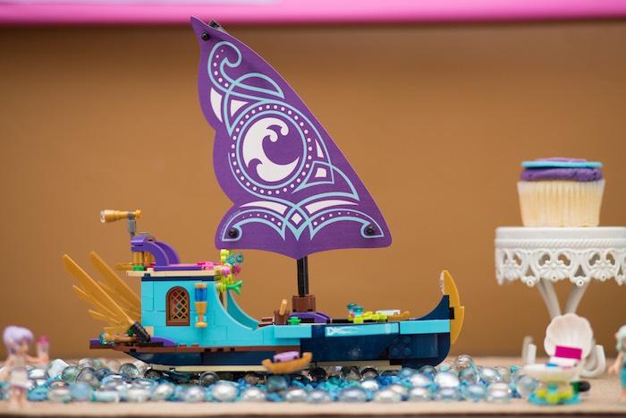 Lego Elves Decor Piece from a Girl Themed Lego Party via Kara's Party Ideas   KarasPartyIdeas.com (25)