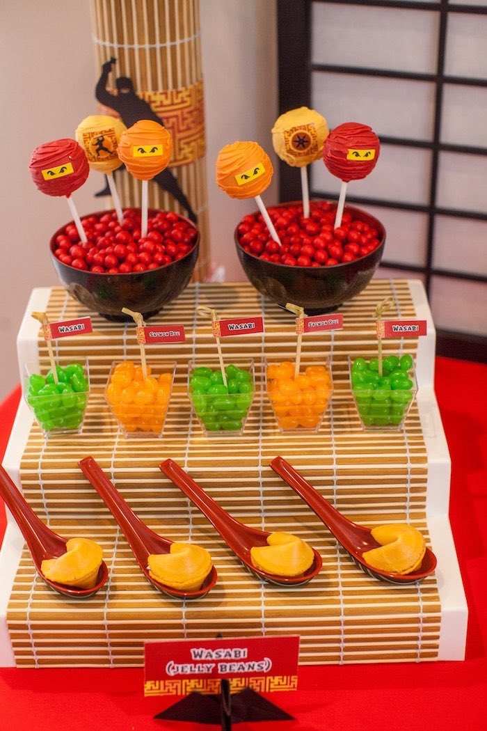 Kara 39 s party ideas japanese inspired ninja party kara 39 s for Asian party decoration