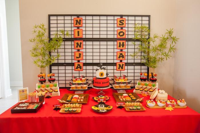 Dessert from a Japanese Inspired Ninja Party via Kara's Party Ideas KarasPartyIdeas.com (72)