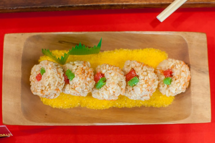 Candy Sushi from a Japanese Inspired Ninja Party via Kara's Party Ideas KarasPartyIdeas.com (51)