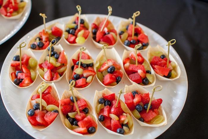 Kara 39 s party ideas japanese inspired ninja party kara 39 s - Fruit designs for parties ...