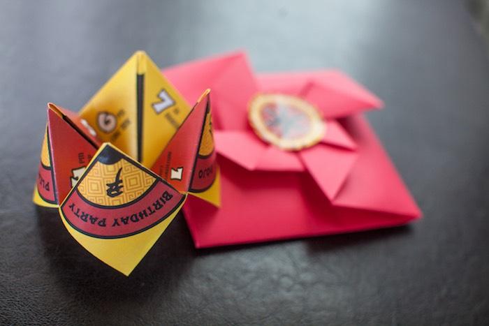 Origami Fortune Teller Invitation from a Japanese Inspired Ninja Party via Kara's Party Ideas KarasPartyIdeas.com (32)