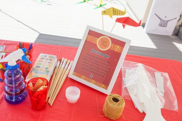 Activity from a Japanese Inspired Ninja Party via Kara's Party Ideas KarasPartyIdeas.com (29)