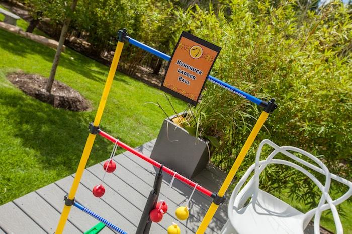 Activity + Ninja Training from a Japanese Inspired Ninja Party via Kara's Party Ideas KarasPartyIdeas.com (17)