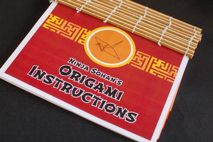 Origami Instruction Booklet from a Japanese Inspired Ninja Party via Kara's Party Ideas KarasPartyIdeas.com (14)