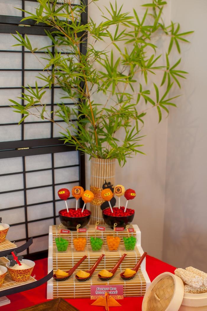 Sweet Table Details from a Japanese Inspired Ninja Party via Kara's Party Ideas KarasPartyIdeas.com (65)