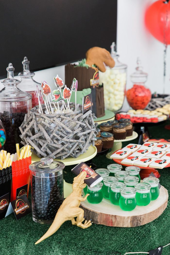 Birthday Party In The Park Food Ideas