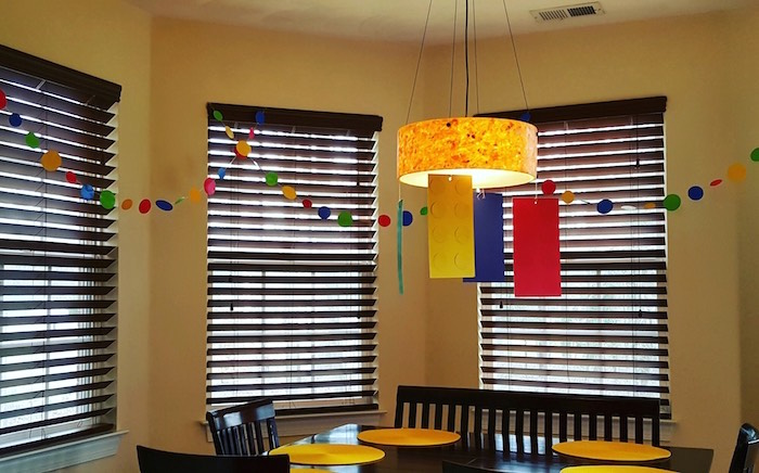 Decor from a Lego Themed Birthday Party via Kara's Party Ideas | KarasPartyIdeas.com (4)