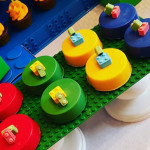 Covered Oreos from a Lego Themed Birthday Party via Kara's Party Ideas | KarasPartyIdeas.com (2)