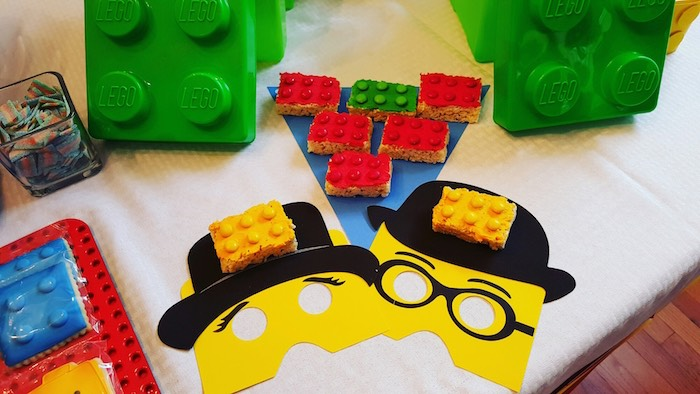 Details + Sweets from a Lego Themed Birthday Party via Kara's Party Ideas | KarasPartyIdeas.com (9)