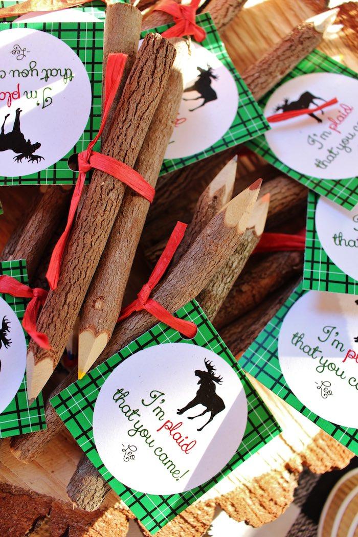 Kara's Party Ideas Littlest Lumberjack Birthday Party ...