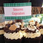 Cupcakes from a Little Lumberjack Birthday Party via Kara's Party Ideas KarasPartyIdeas.com (1)
