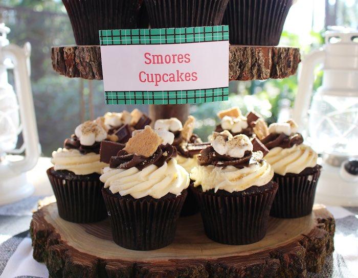 Kara S Party Ideas Littlest Lumberjack Birthday Party Kara S Party Ideas