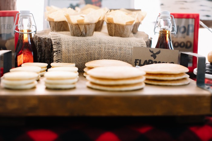 Muffins + Pancakes from a Little Lumberjack Birthday Party via Kara's Party Ideas   The Place for All Things Party KarasPartyIdeas.com (32)