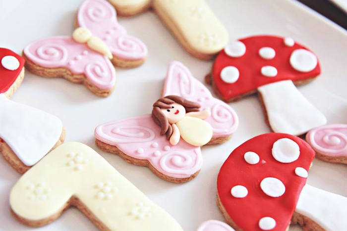Cookies from a Magical Fairy Birthday Party via Kara's Party Ideas | KarasPartyIdeas.com (7)