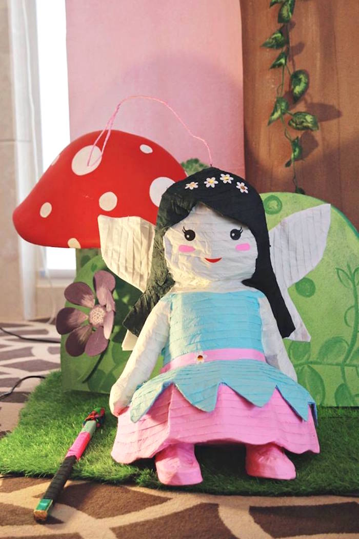 Fairy Piñata from a Magical Fairy Birthday Party via Kara's Party Ideas | KarasPartyIdeas.com (4)