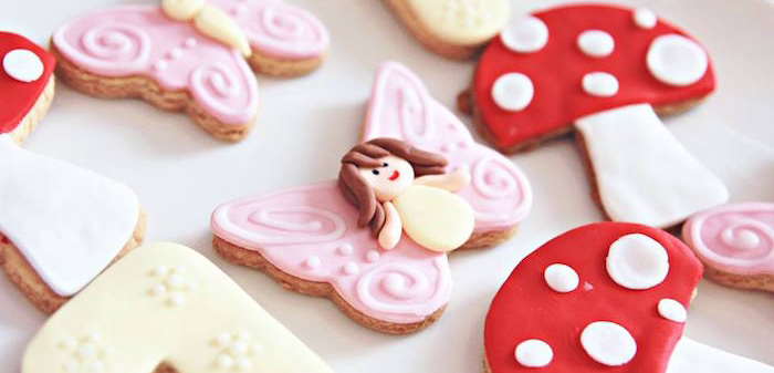 Cookies from a Magical Fairy Birthday Party via Kara's Party Ideas | KarasPartyIdeas.com (2)