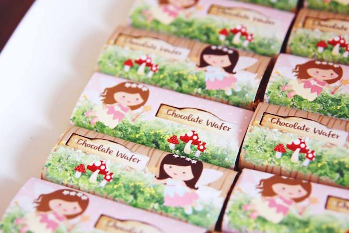 Chocolate Bars from a Magical Fairy Birthday Party via Kara's Party Ideas | KarasPartyIdeas.com (19)