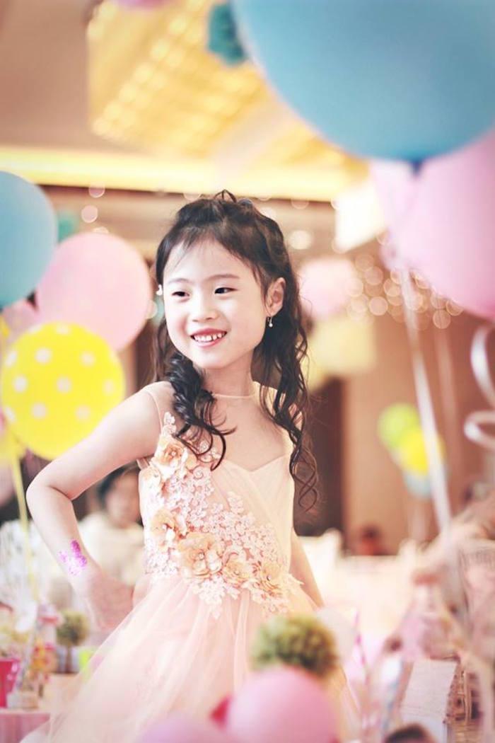 Birthday Girl from a Magical Fairy Birthday Party via Kara's Party Ideas | KarasPartyIdeas.com (17)