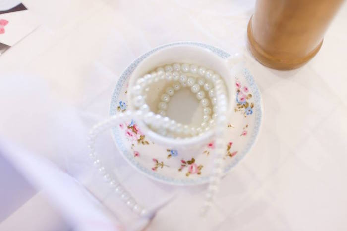 Tea Cup & Saucer Decor Piece from a Mary Poppins Themed Birthday Party via Kara's Party Ideas KarasPartyIdeas.com (21)