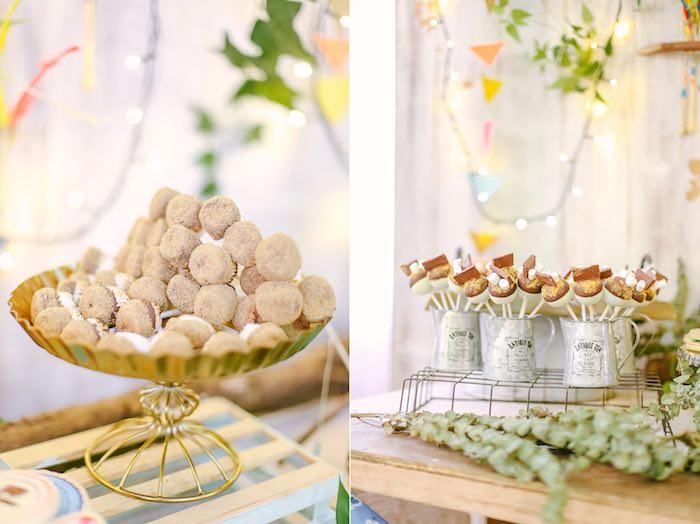 Sweets from a Moonrise Kingdom Camping Birthday Party via Kara's Party Ideas | KarasPartyIdeas.com (25)