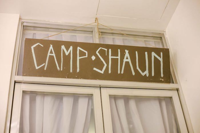 Sign from a Moonrise Kingdom Camping Birthday Party via Kara's Party Ideas | KarasPartyIdeas.com (21)